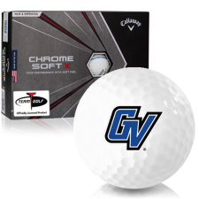 Callaway Golf Chrome Soft X Triple Track Grand Valley State Lakers Golf Balls