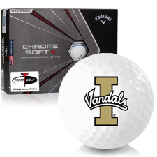 Callaway Golf Chrome Soft X Triple Track Idaho Vandals Golf Balls