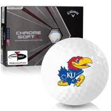 Callaway Golf Chrome Soft X Triple Track Kansas Jayhawks Golf Balls