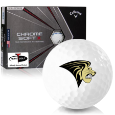 Callaway Golf Chrome Soft X Triple Track Lindenwood Lions Golf Balls