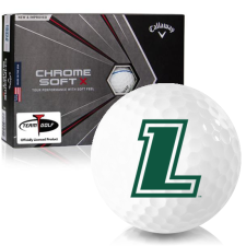 Callaway Golf Chrome Soft X Triple Track Loyola Maryland Greyhounds Golf Balls