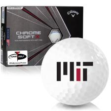 Callaway Golf Chrome Soft X Triple Track MIT - Massachusetts Institute of Technology Golf Balls