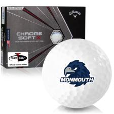Callaway Golf Chrome Soft X Triple Track Monmouth Hawks Golf Balls