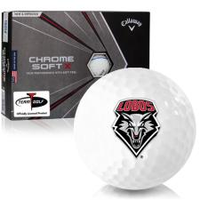 Callaway Golf Chrome Soft X Triple Track New Mexico Lobos Golf Balls