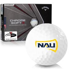 Callaway Golf Chrome Soft X Triple Track Northern Arizona Lumberjacks Golf Balls