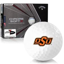 Callaway Golf Chrome Soft X Triple Track Oklahoma State Cowboys Golf Balls