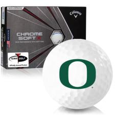 Callaway Golf Chrome Soft X Triple Track Oregon Ducks Golf Balls