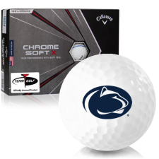 Callaway Golf Chrome Soft X Triple Track Penn State Nittany Lions Golf Balls