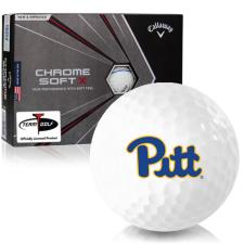 Callaway Golf Chrome Soft X Triple Track Pittsburgh Panthers Golf Balls