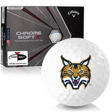 Callaway Golf Chrome Soft X Triple Track Quinnipiac Bobcats Golf Balls