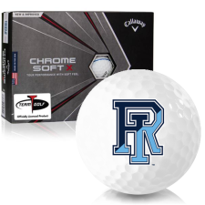 Callaway Golf Chrome Soft X Triple Track Rhode Island Rams Golf Balls
