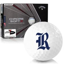 Callaway Golf Chrome Soft X Triple Track Rice Owls Golf Balls