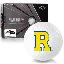 Callaway Golf Chrome Soft X Triple Track Rochester Yellowjackets Golf Balls