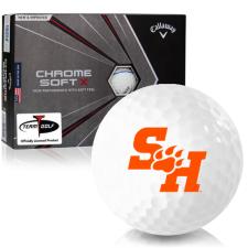 Callaway Golf Chrome Soft X Triple Track Sam Houston State Bearkats Golf Balls