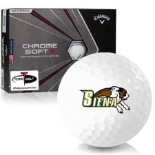 Callaway Golf Chrome Soft X Triple Track Siena Saints Golf Balls