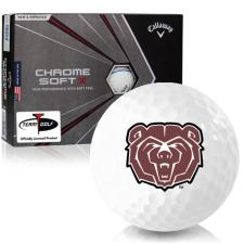 Callaway Golf Chrome Soft X Triple Track Southwest Missouri State Bears Golf Balls