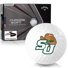 Callaway Golf Chrome Soft X Triple Track Stetson Hatters Golf Balls