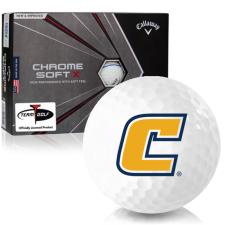 Callaway Golf Chrome Soft X Triple Track Tennessee Chattanooga Mocs Golf Balls