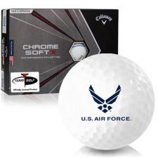 Callaway Golf Chrome Soft X Triple Track US Air Force Golf Balls
