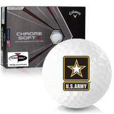 Callaway Golf Chrome Soft X Triple Track US Army Golf Balls