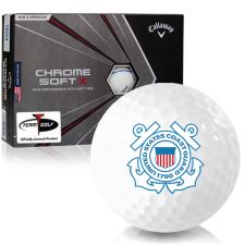 Callaway Golf Chrome Soft X Triple Track US Coast Guard Golf Balls
