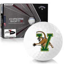 Callaway Golf Chrome Soft X Triple Track Vermont Catamounts Golf Balls