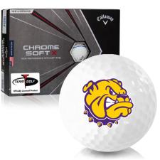 Callaway Golf Chrome Soft X Triple Track Western Illinois Leathernecks Golf Balls