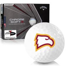 Callaway Golf Chrome Soft X Triple Track Winthrop Eagles Golf Balls