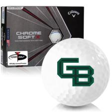 Callaway Golf Chrome Soft X Triple Track Wisconsin Green Bay Phoenix Golf Balls
