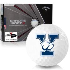 Callaway Golf Chrome Soft X Triple Track Yale Bulldogs Golf Balls