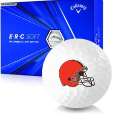 Callaway Golf ERC Soft Triple Track Cleveland Browns Golf Balls