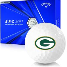 Callaway Golf ERC Soft Triple Track Green Bay Packers Golf Balls