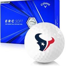 Callaway Golf ERC Soft Triple Track Houston Texans Golf Balls