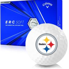 Callaway Golf ERC Soft Triple Track Pittsburgh Steelers Golf Balls