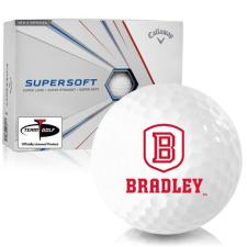 Callaway Golf Supersoft Bradley Braves Golf Balls