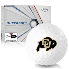 Callaway Golf Supersoft Colorado Buffaloes Golf Balls