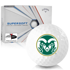 Callaway Golf Supersoft Colorado State Rams Golf Balls