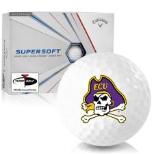 Callaway Golf Supersoft East Carolina Pirates Golf Balls