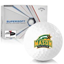 Callaway Golf Supersoft George Mason Patriots Golf Balls
