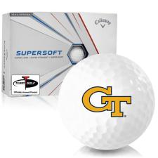 Callaway Golf Supersoft Georgia Tech Golf Balls