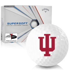 Callaway Golf Supersoft Indiana Hoosiers Golf Balls