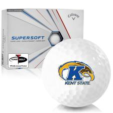 Callaway Golf Supersoft Kent State Golden Flashes Golf Balls