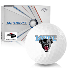 Callaway Golf Supersoft Maine Black Bears Golf Balls
