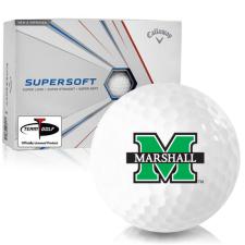 Callaway Golf Supersoft Marshall Thundering Herd Golf Balls