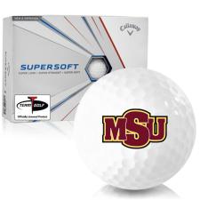 Callaway Golf Supersoft Midwestern State Mustangs Golf Balls