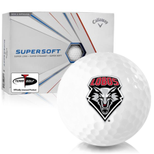 Callaway Golf Supersoft New Mexico Lobos Golf Balls