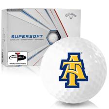 Callaway Golf Supersoft North Carolina A&T Aggies Golf Balls