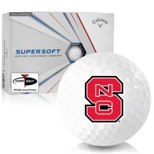 Callaway Golf Supersoft North Carolina State Wolfpack Golf Balls