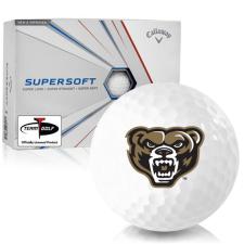 Callaway Golf Supersoft Oakland Golden Grizzlies Golf Balls