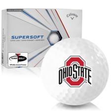 Callaway Golf Supersoft Ohio State Buckeyes Golf Balls